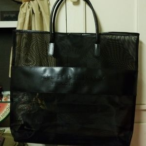 BURBERRY Fragrance  XL Tote Bag